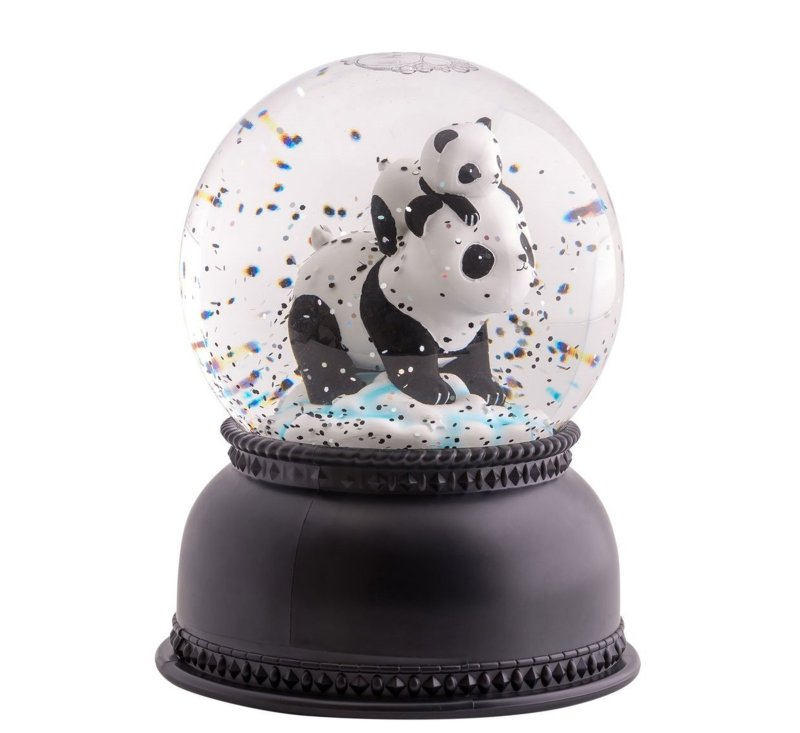 Snowglobe Light - Panda-Light-A Little Lovely Company-jellyfishkids.com.cy