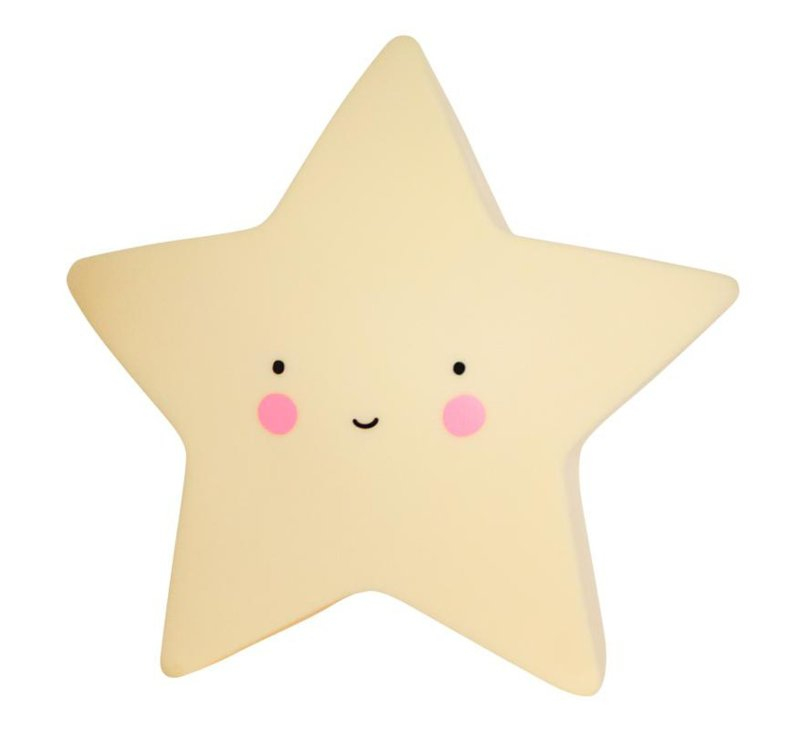Star Light - Yellow-Light-A Little Lovely Company-jellyfishkids.com.cy