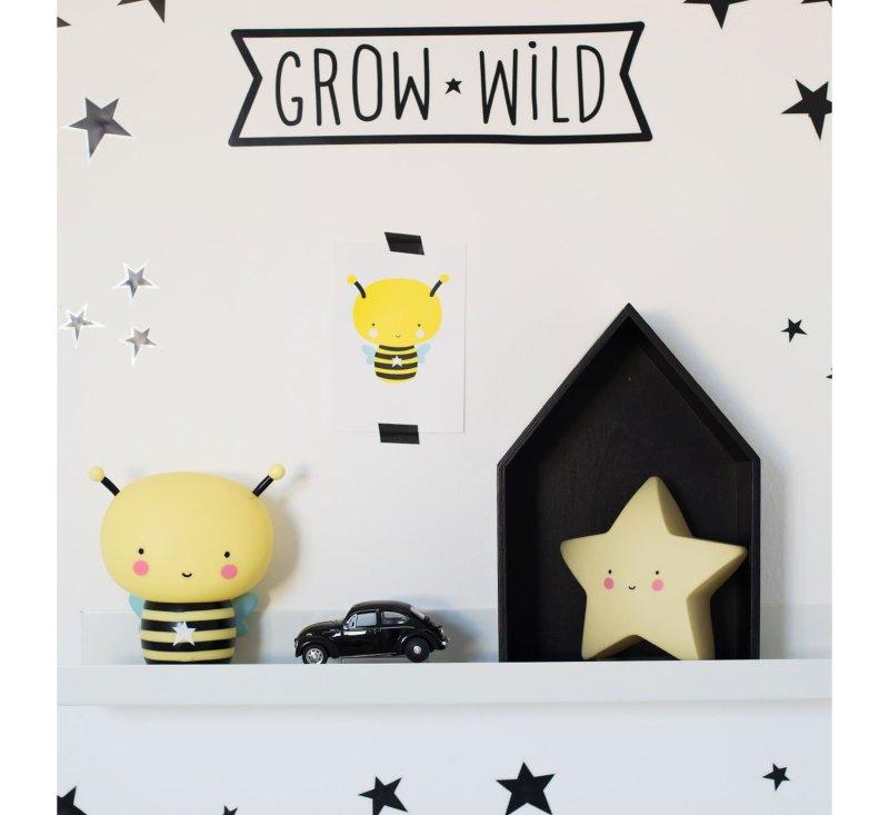 Star Light - Yellow-Light-A Little Lovely Company-jellyfishkids.com.cy