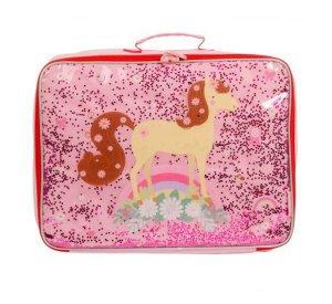 Suitcase Glitter - Horse-Storage Bag-A Little Lovely Company-jellyfishkids.com.cy