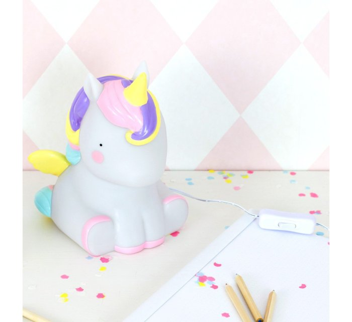 Table light - Unicorn-Light-A Little Lovely Company-jellyfishkids.com.cy