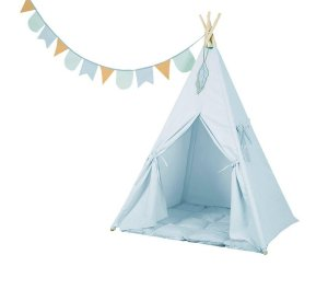 Teepee Tent - Blue-Teepee-Little Dutch-jellyfishkids.com.cy