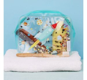 Toiletry Bag - Space-Bag-A Little Lovely Company-jellyfishkids.com.cy