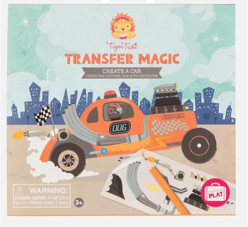 Transfer Magic - Create A Car-Creatives-Tiger Tribe-jellyfishkids.com.cy