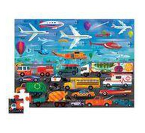 Vehicles - Things that Go - Above & Below!-Puzzle-Crocodile Creek-jellyfishkids.com.cy