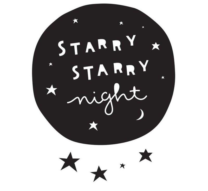 Wall Stcker - Starry Night-Wall Sticker-A Little Lovely Company-jellyfishkids.com.cy