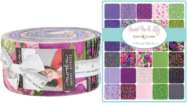 sweet pea lily jelly roll # 0