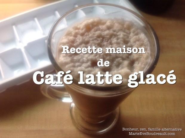 cafe latte glace givre frappe cappuccinno cappuccino cafe au lait vegane recette maison comment faire preparation vegetalien mokaccino decafeine