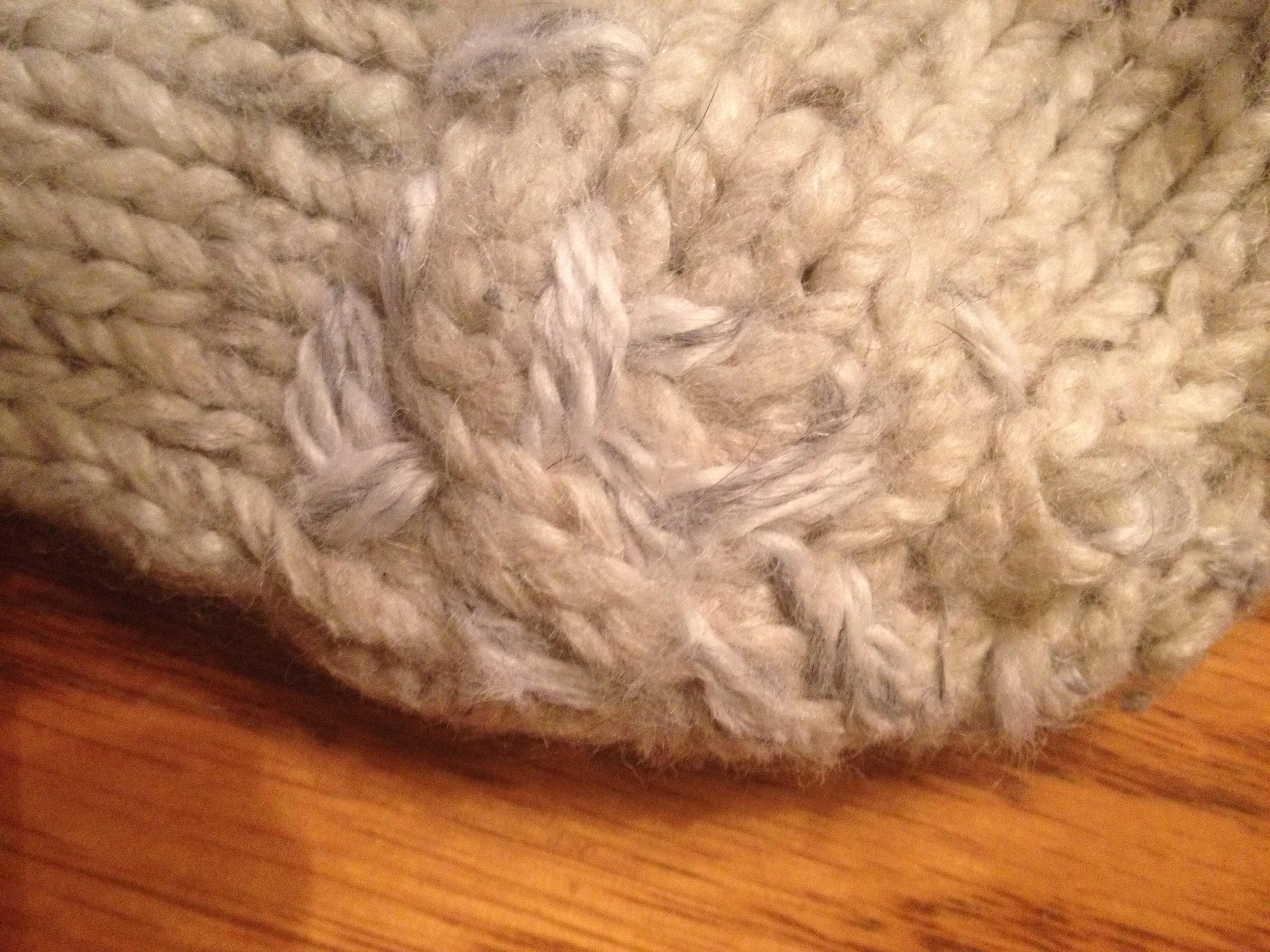 réparation de bas de laine comment faire how to repair socks