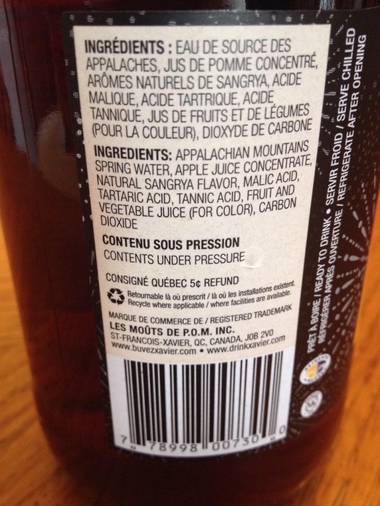 ingrédients image Consommation responsable: 6 alternatives aux boissons alcoolisées {#Halloween, #Fêtes} mocktails xavier margarita virgin sangrya moûts de p.o.m