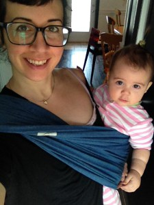 bébé k'tan porte-bébé testé sur Je Materne,concours, avis 3
