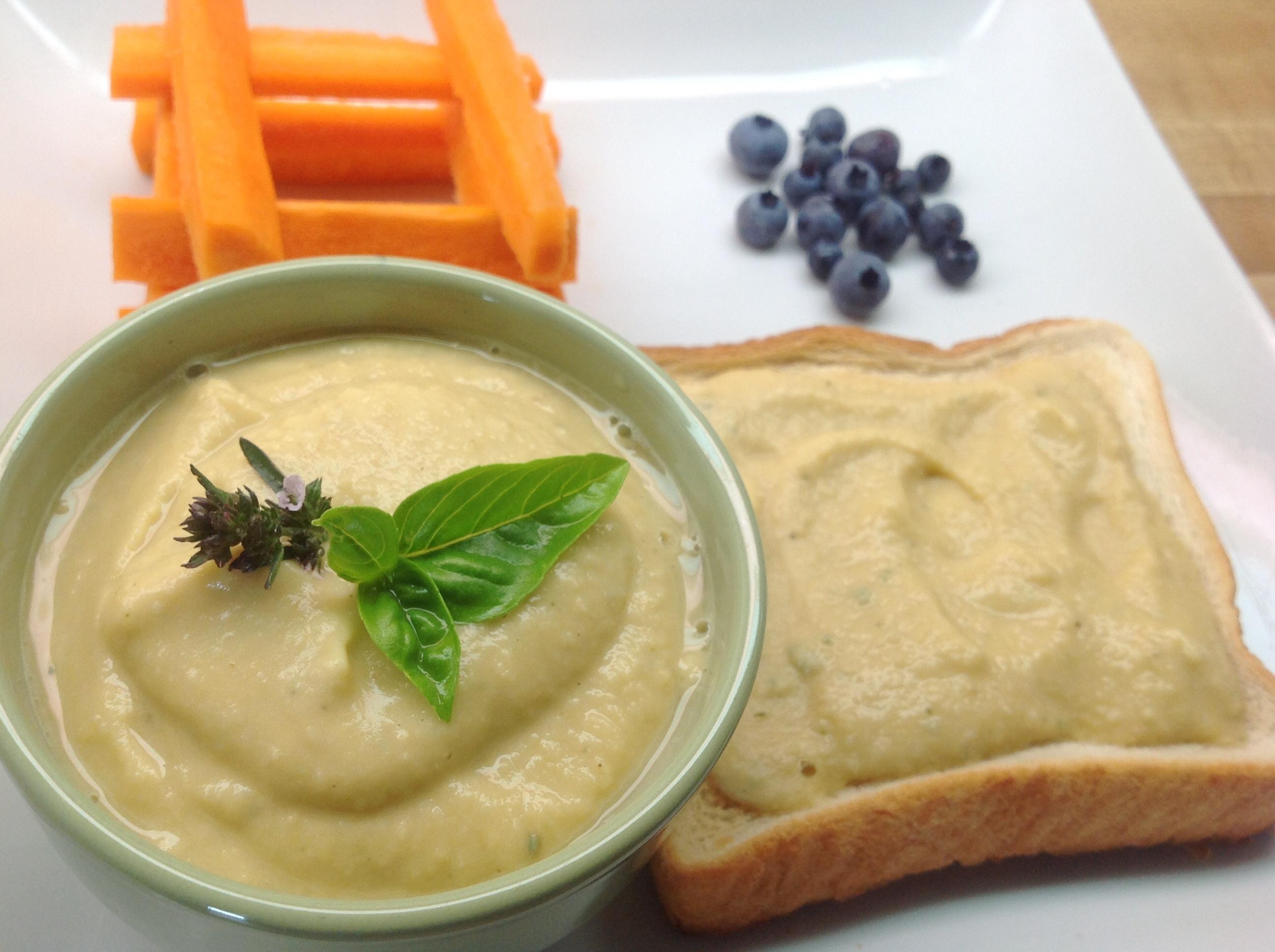 recette hummus humus houmous maison ail fines herbes trempette de pois chiches simple divine végane végétalienne hypo-allergique végétarienne