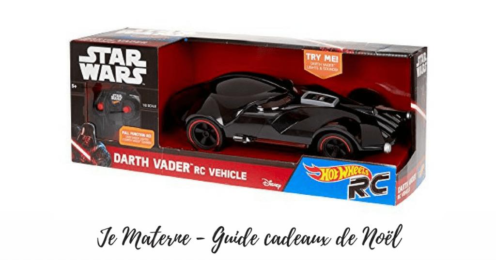 Guide cadeaux de Noël 2016 pour enfants auto télguidée darth vader hot wheels