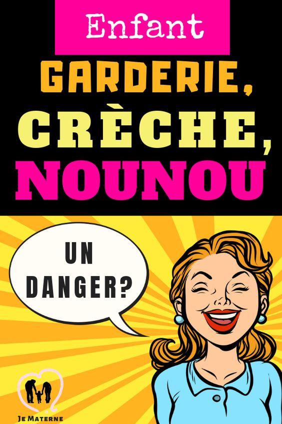 #Garderie #Crèche #Nounou, un danger pour ton #enfant ? À lire sur JeMaterne.com #famille #activités #maman #maternage #naissance