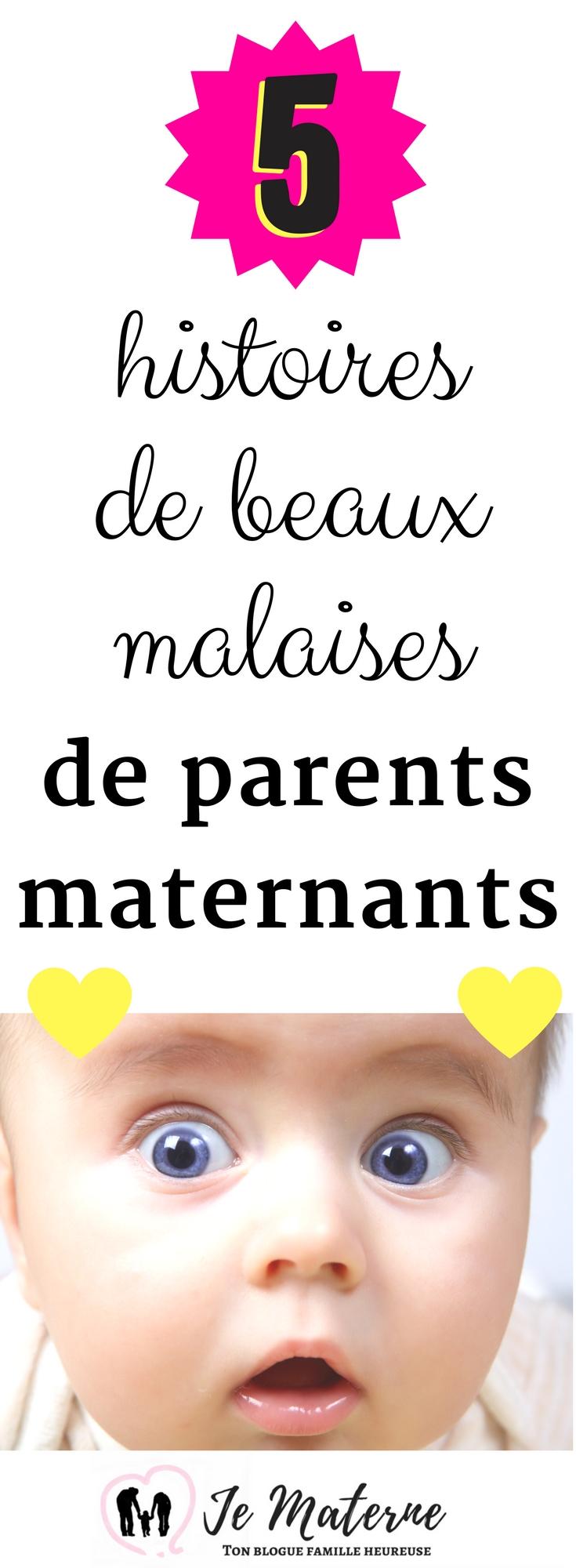 À LIRE! 5 histoires de beaux malaises des parents maternants - JeMaterne.com