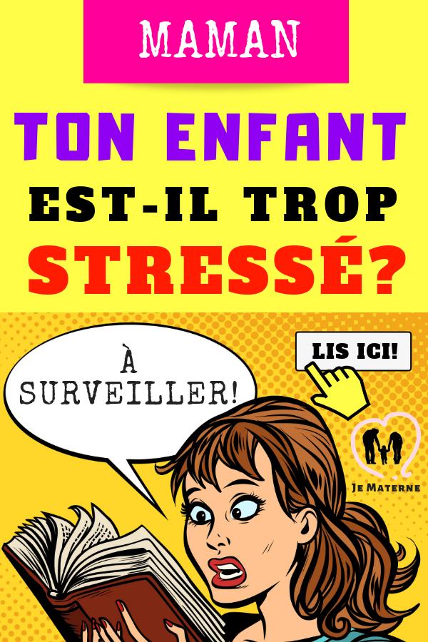 Voici comment savoir si ton enfant est trop stressé! À LIRE SUR http://jematerne.com/2019/01/11/ton-enfant-peut-etre-super-stresse-sans-que-tu-ne-le-saches-et-cest-a-surveiller #maman #maternité #grossesse #naissance #enfant #bébé #activités #famille