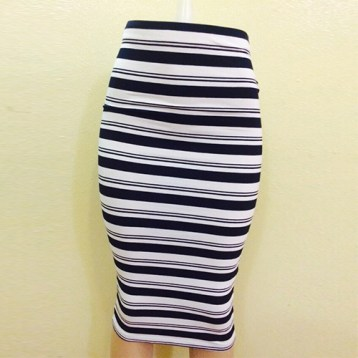 Monochrome skirt SOLD OUT