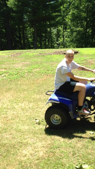 First time driving a four wheeler! (Part 2)