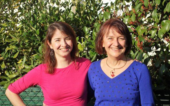 Sarah Chêne et Eve Thiébaut - l'équipe de Je me libère du stress