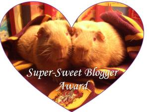 Super-Sweet Blogger Award