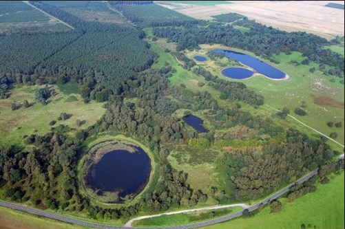 Kettle holes and pingo ponds