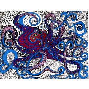 #FridayFlash Fiction | Octopus's Garden