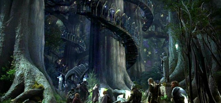 L is for Lothlorien