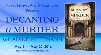 Book Review & Tour | Decanting a Murder by Nadine Nettman