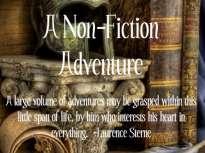 Non-fiction adventure