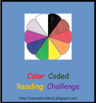 Colour coded reading challenge