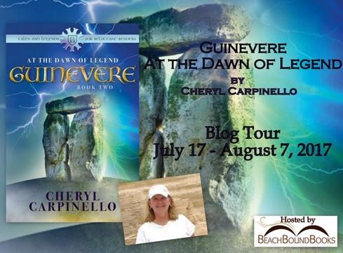 guinevere dawn of legend book tour