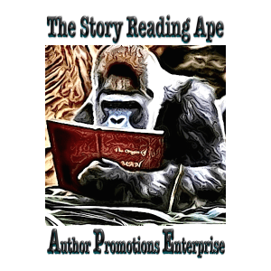 story reading ape badge