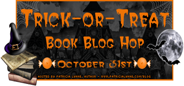 Trick or treat blog hop banner halloween