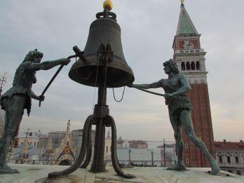 The clock bells