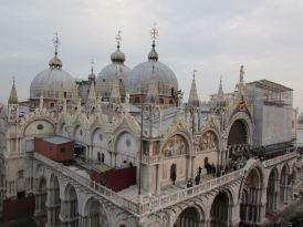 Doge's palace roof