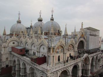 Doge's palace roof