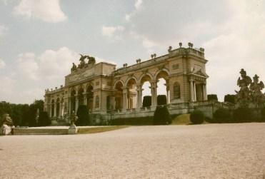 Colonnade at the Schonbrunn Palace
