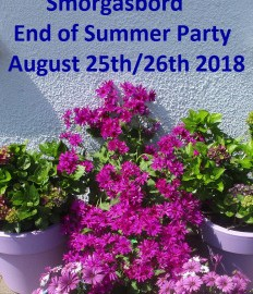 Join me at Sally's End of Summer Party 25/26 August