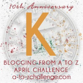 K is for Kevin and Percy #atozchallenge