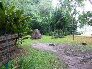 le parc devant la cueva