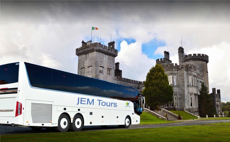 JEM Tours coach castle