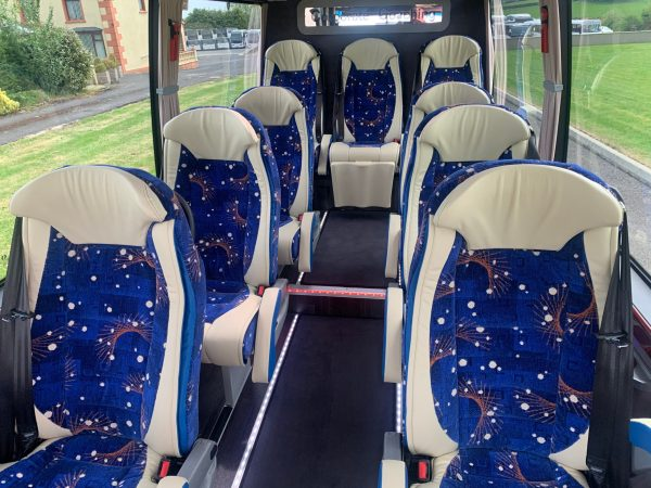 Luxury 9 seat coach