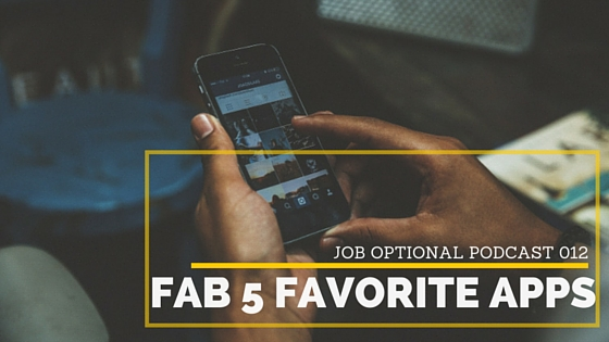 012 Fab 5 Favorite Apps