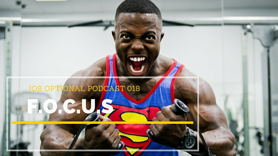 Focus and finish strong with your Business goals on the Job Optional Podcast
