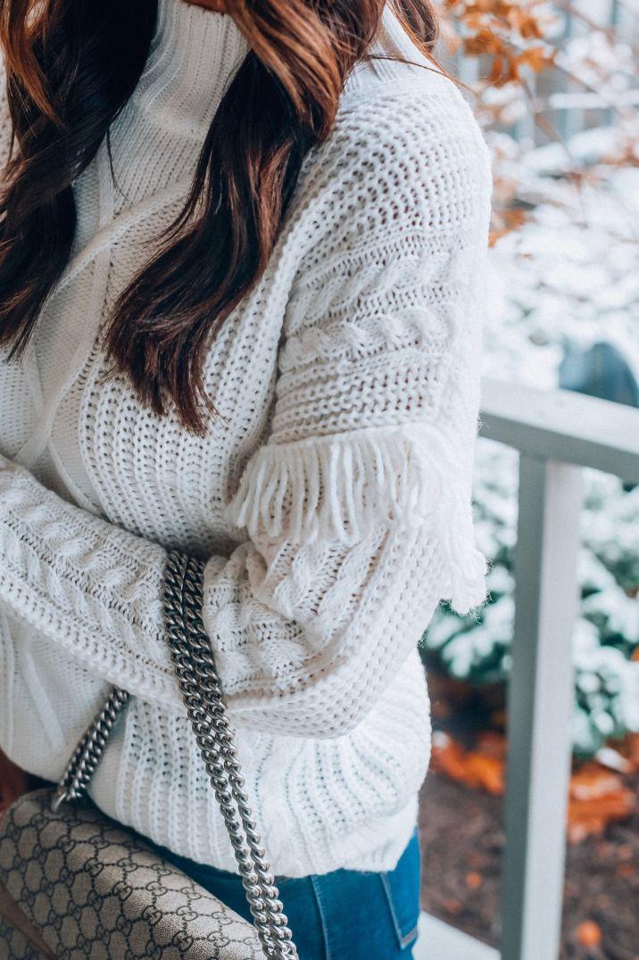 white top detail