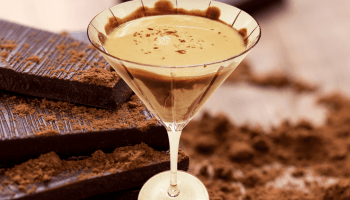 chocolate amaretto martini is an alcoholic drink that is pure bliss made with chocolate liqueur, vodka, and amaretto with a chocolate sauce for the garnishing the martini glass. The perfect dessert martini