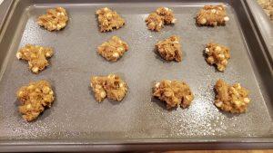 baking the root beer float cookies
