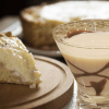banana creme martini is a great martini that consists of vanilla vodka, irish cream, banana liqueur such as 99 bananas