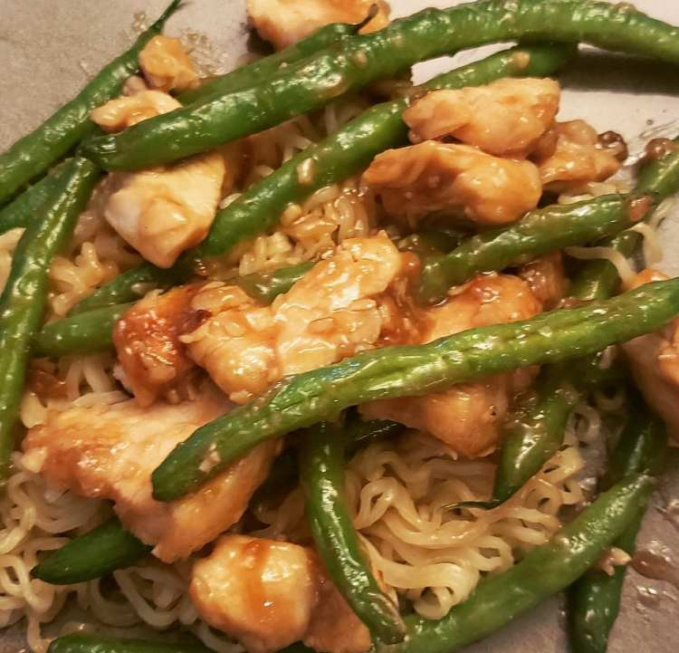 chinese chicken and string beans just like chinese takeout
