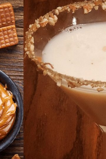 caramel martini has a nutty flavor and consists of vanilla vodka and rumchata